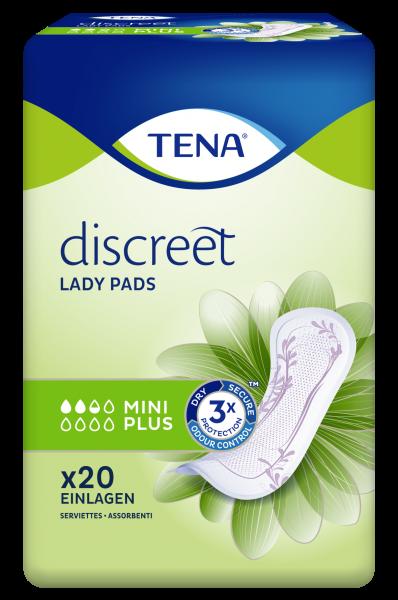 Tena Lady Discreet Mini Plus, 120 Stück