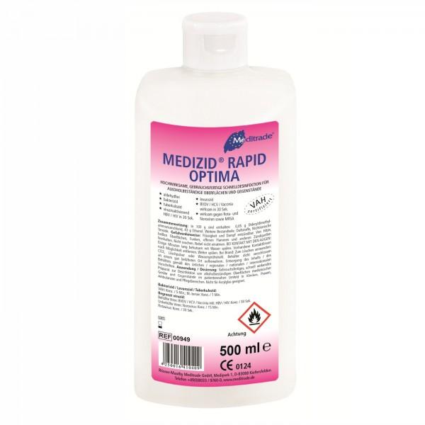 Meditrade Medizid Rapid Optima Schnelldesinfektion, 500 ml