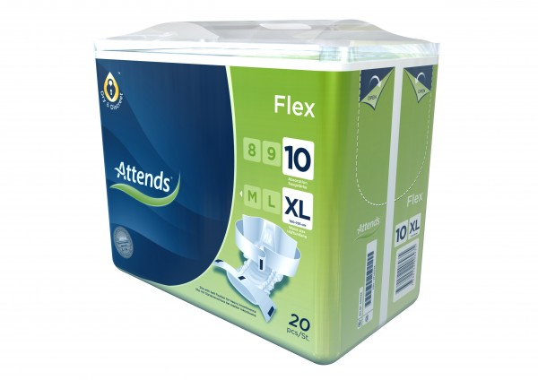 Attends Flex 10 XL, 20 Stück