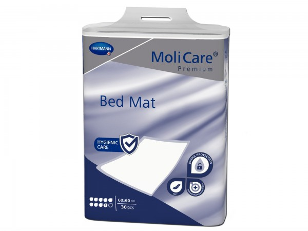 Hartmann MoliCare Premium Bed Mat 9 Tropfen 60x60cm, 30 Stück