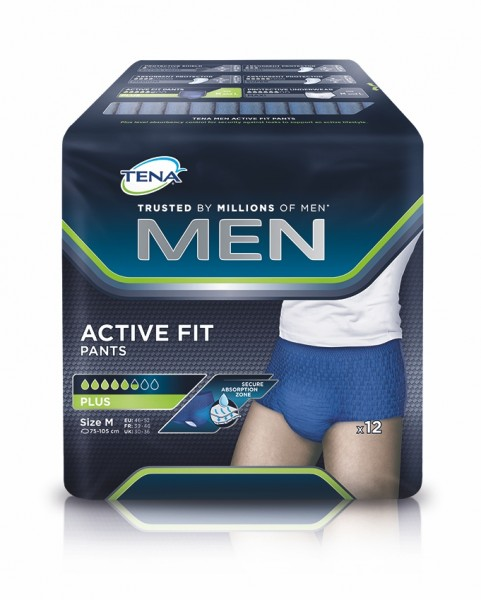Tena Men Active Fit Pants Plus M, 48 Stück
