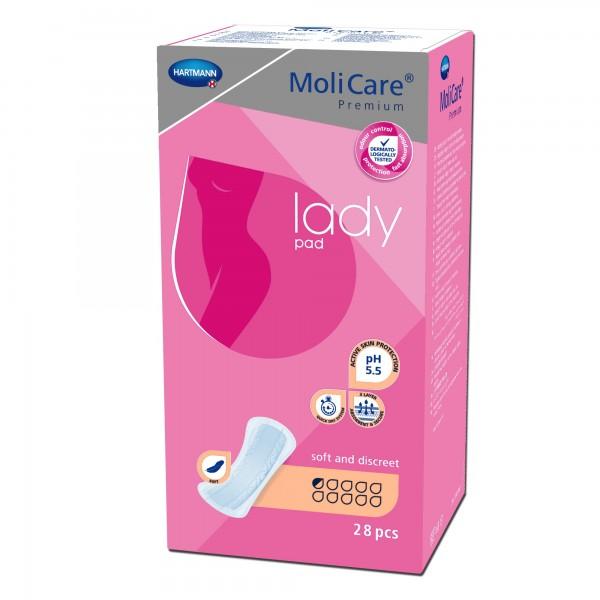 Hartmann MoliCare Premium lady pad 0,5 Tropfen, 224 Stück