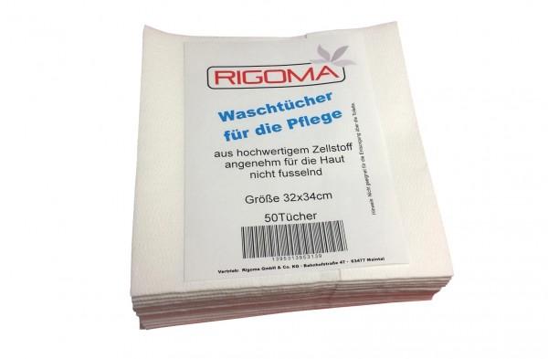 Rigoma Wasch- und Pflegetücher, 32x34cm, 50 Stück