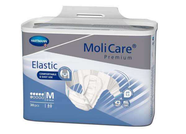 Hartmann MoliCare Premium Elastic 6 Tropfen M, 30 Stück