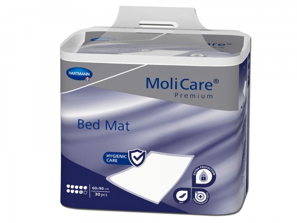 Hartmann MoliCare Premium Bed Mat 9 Tropfen 60x90cm, 30 Stück