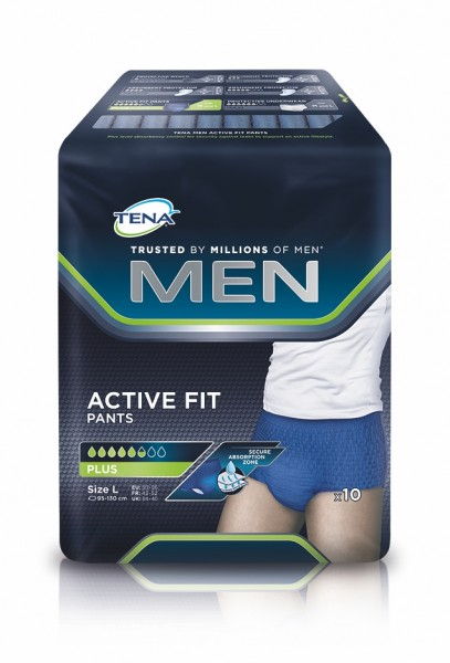 Tena Men Active Fit Pants Plus L, 40 Stück