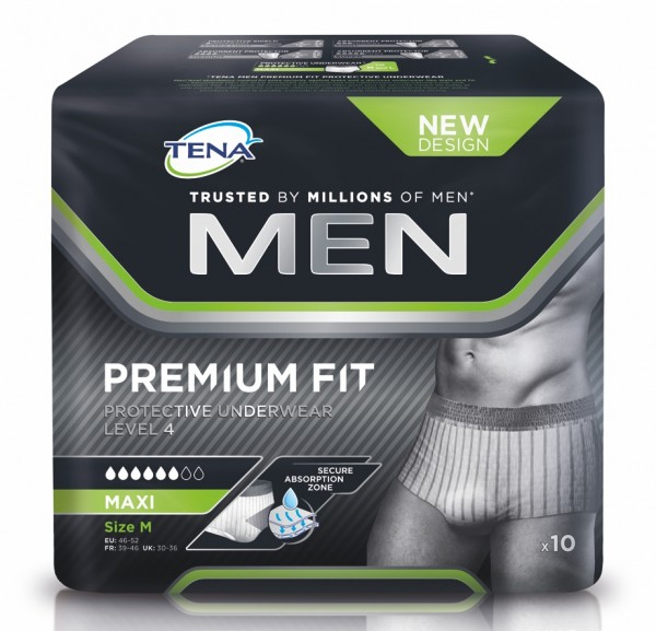 Tena Men Level 4 Protective Underwear M, 12 Stück