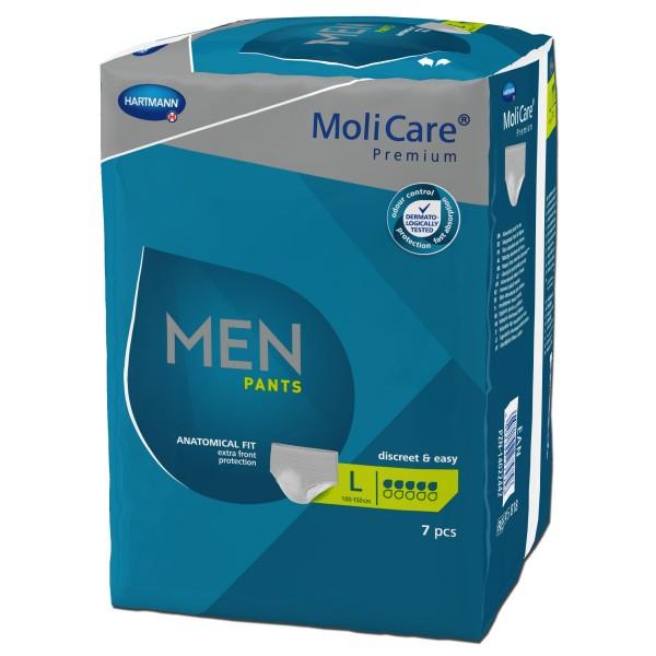 Hartmann MoliCare Premium MEN PANTS 5 Tropfen L, 7 Stück