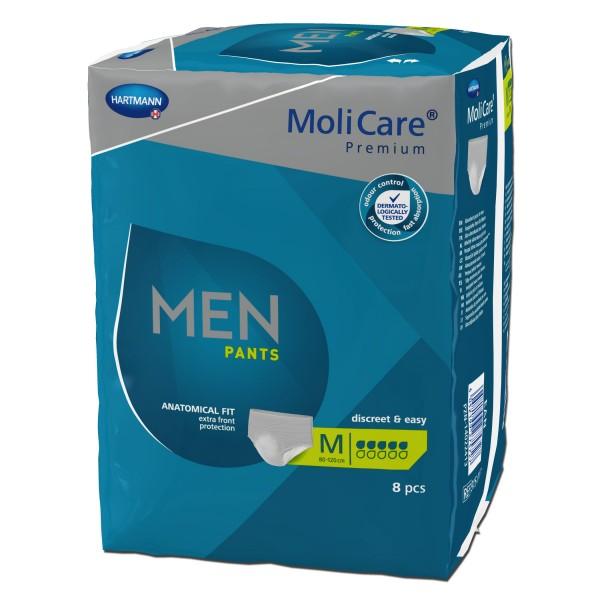 Hartmann MoliCare Premium MEN PANTS 5 Tropfen M, 8 Stück
